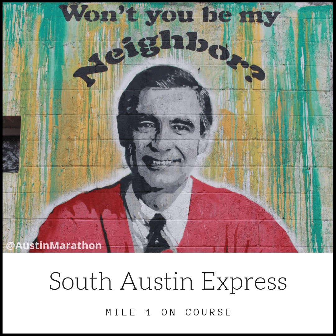 Reason #7 you'll love the Austin Marathon: murals on course!